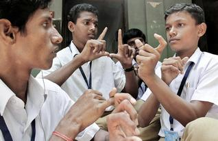 Sign Language School in India