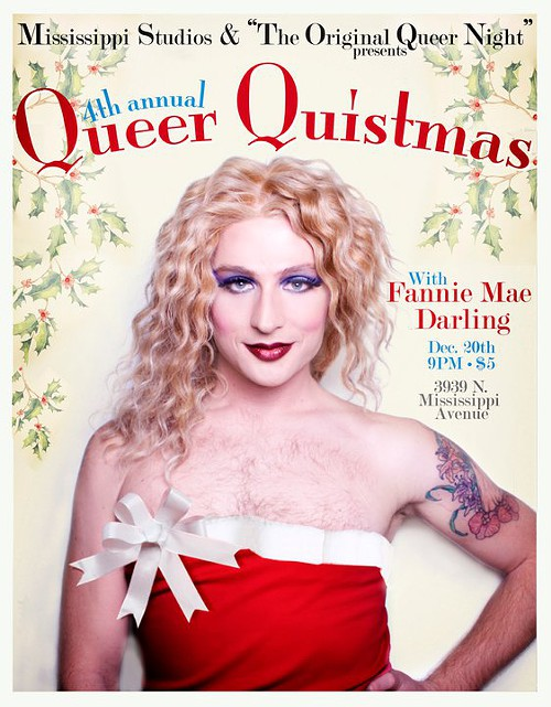 queer quistmas event happening dec 20 @ mississippi studios