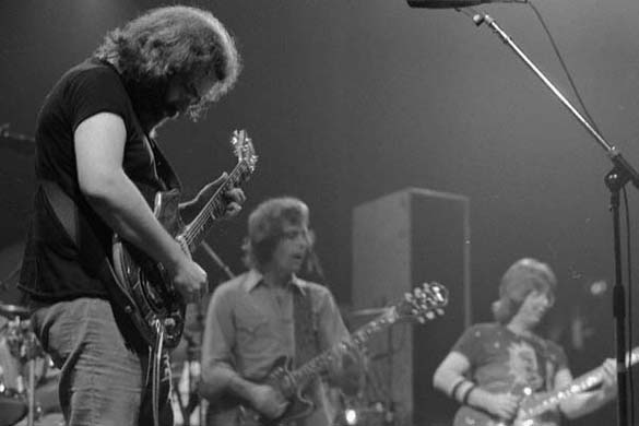 Jerry Garcia, Bob Weir & Phil Lesh photo - Spring 1981