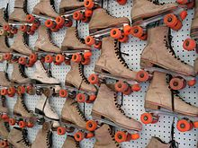 Roller Skates - Paul Bunyan Land - all rights reserved