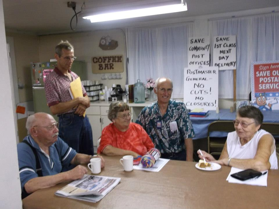 Neighbors Fight to Save their Post Office