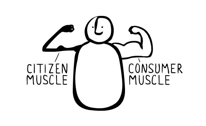 Citizen muscle from the Story of Stuff