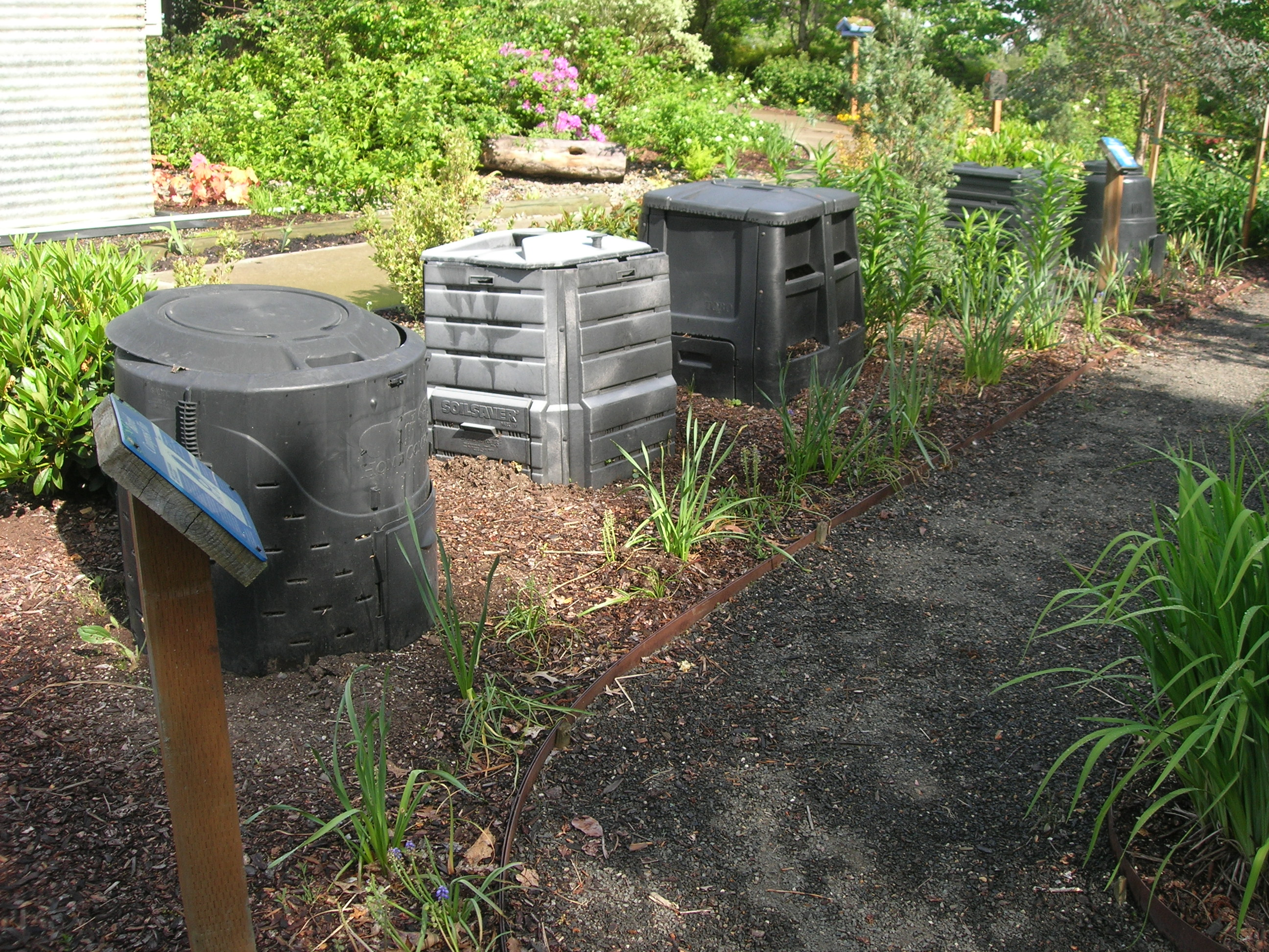 It's always time to begin composting.
