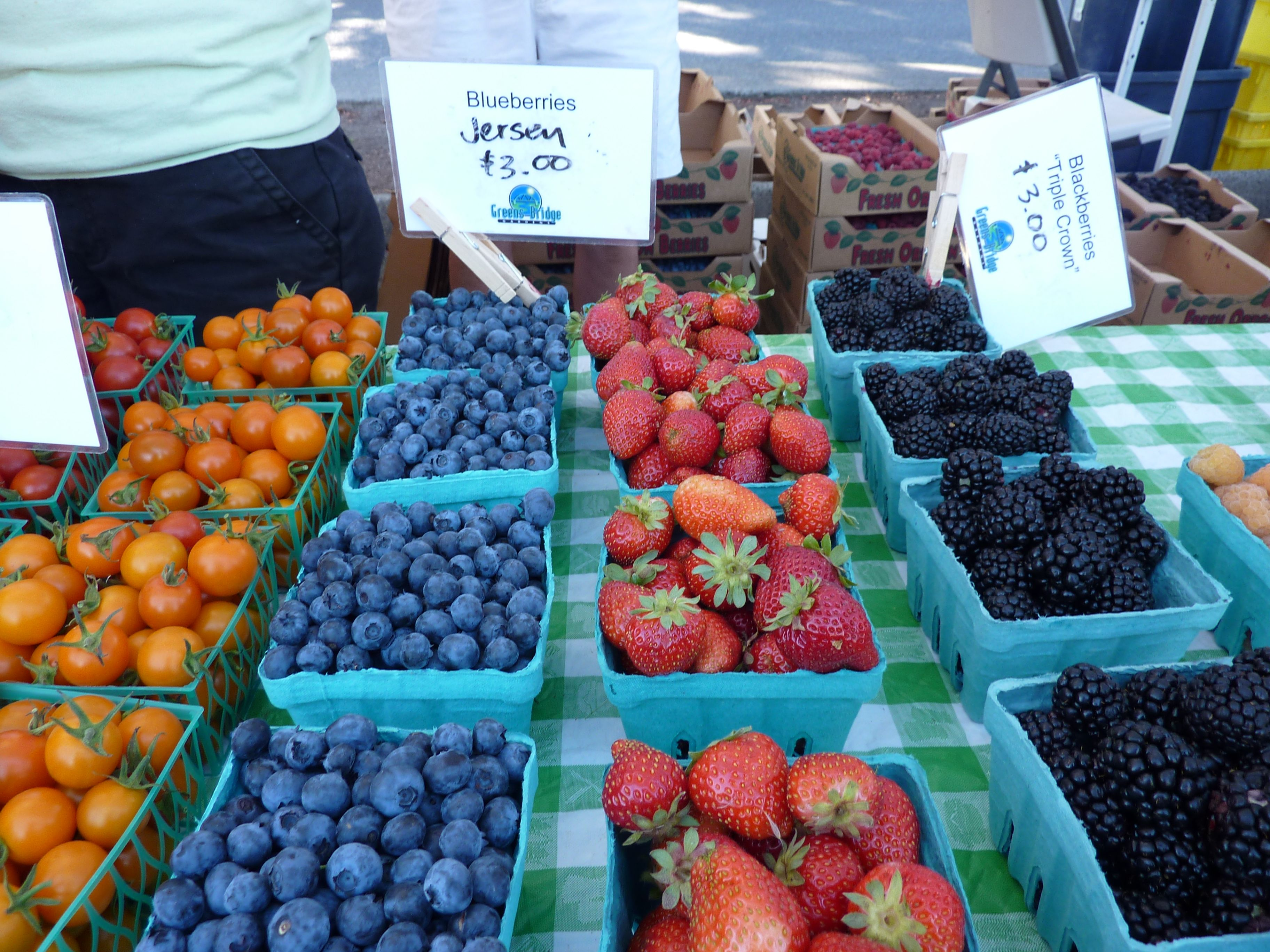Farmers' Market Berries