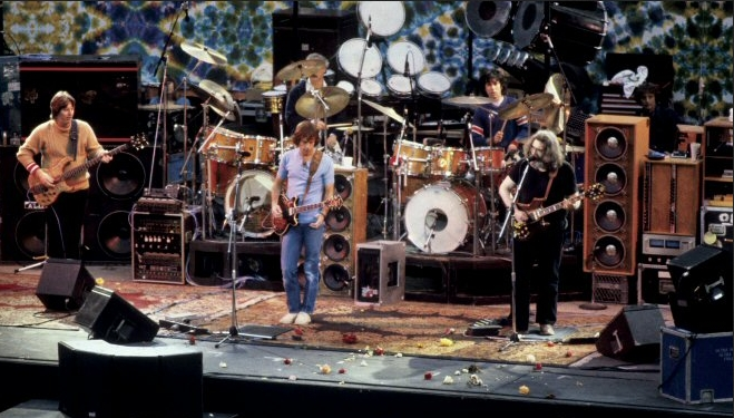 Phil, Bob & Jerry May 13, 1983 at the Greek Theater, Berkeley, CA