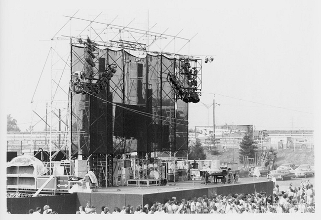 Grateful Dead, July 31, 1974, Dillon Stadium, Hartfor, CT