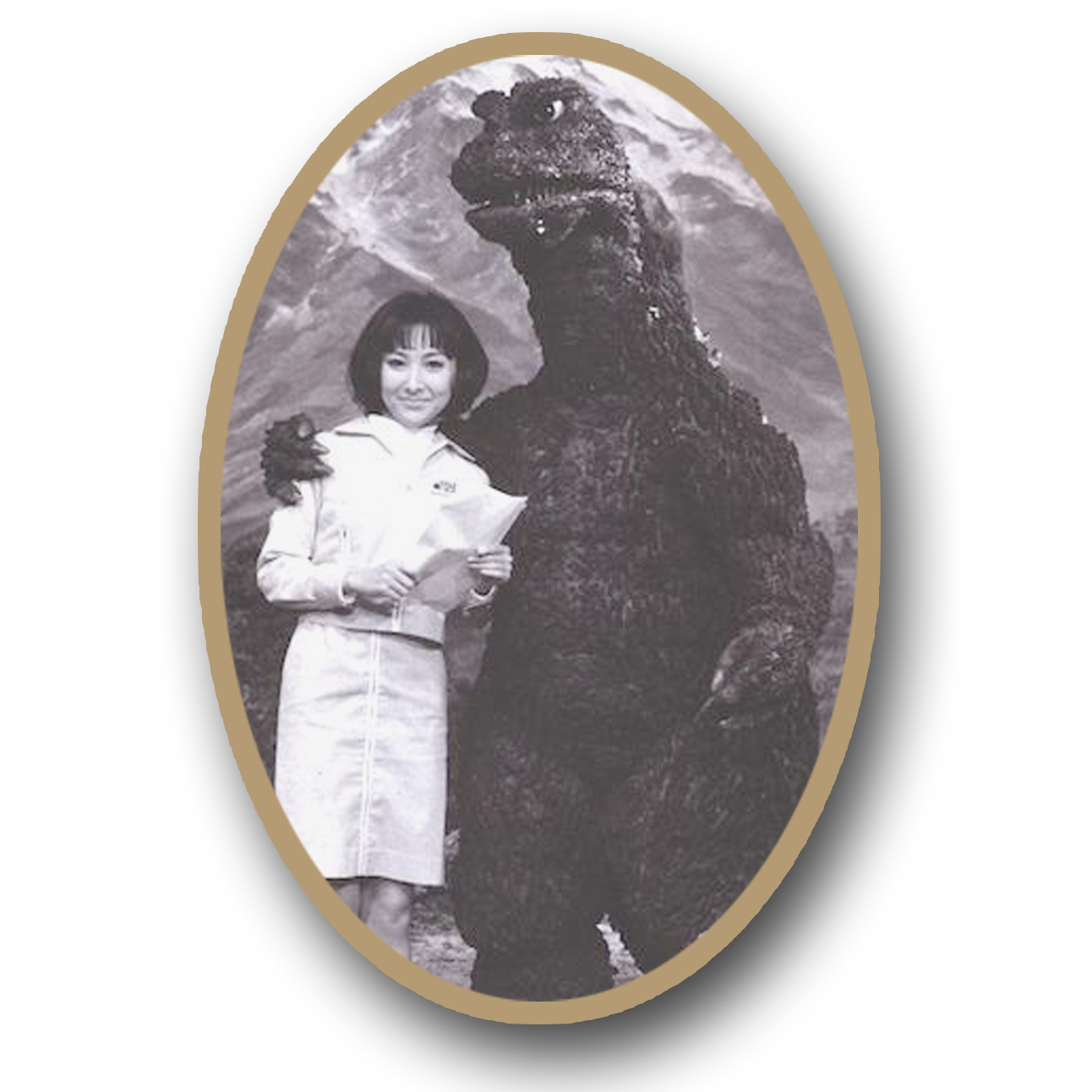 A rare picture of the reclusive DEMON QUEEN - Mrs Godzilla