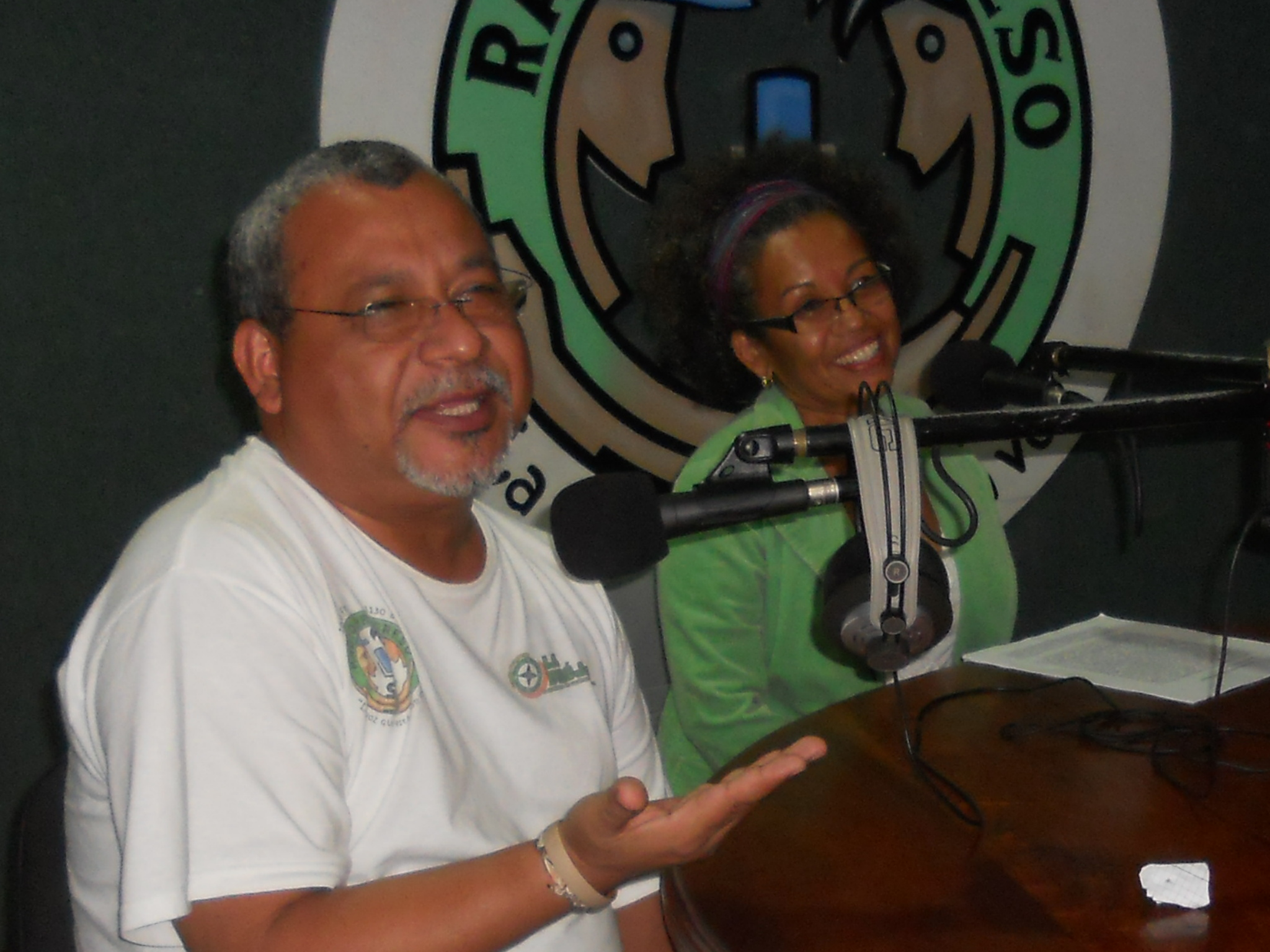 Padre Melo at Radio Progreso