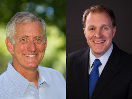 Charlie Hales and Jefferson Smith (official campaign photos)