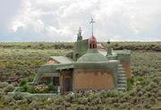 Earthship Handmade House, New Mexico
