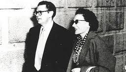 Photo of Joe SLovo and Ruth First