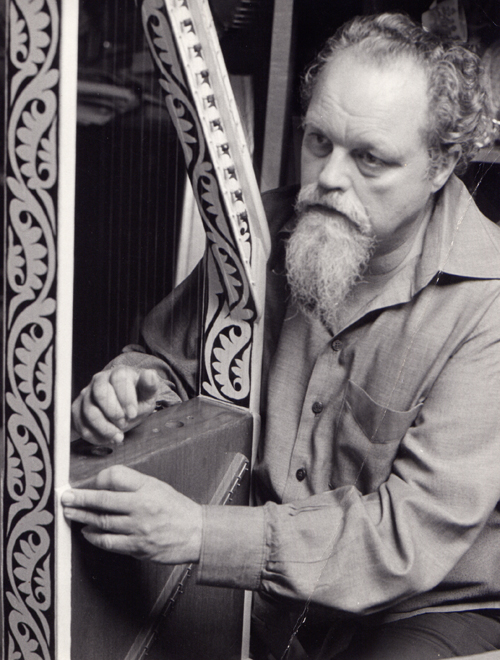 Lou Harrison, the man, the harpist