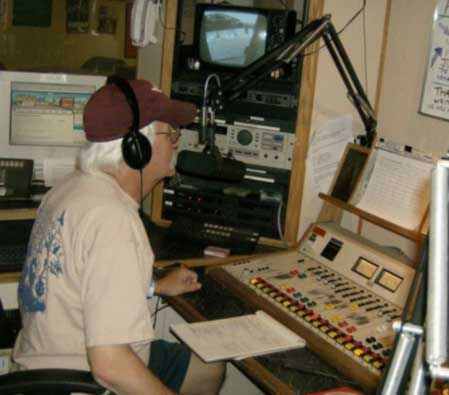 Uncle Chippy, live and on the air!