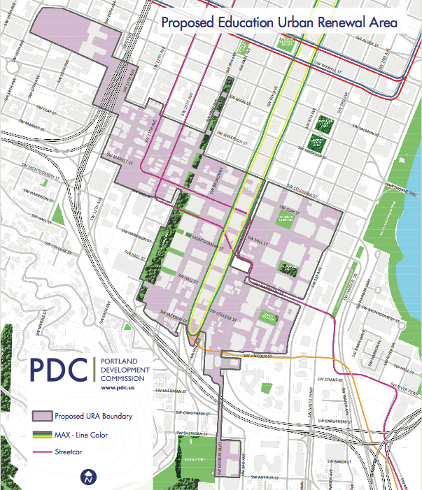 PDC's Education Urban Renewal Area