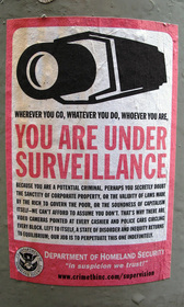You are under surveillance