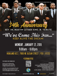 MLK Day Special Program