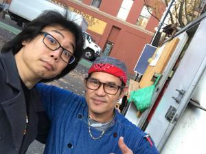 Matt and Chef Luis