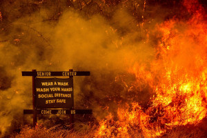 Wildfires in Northern California 2020