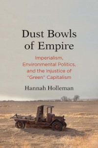Dust Bowls of Empire book cover with image of arid landscape