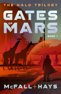 Gates of Mars by Kathleen McFall and Clark Hays (Pumpjack Press)