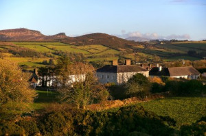 A small mountain village in Ireland