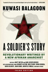"""The cover of """"A Soldier's Story"""" book"""