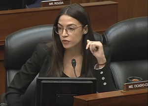 Rep. Alexandria Ocasio-Cortez (D-NY) (Photo courtesy of US House of Representatives)