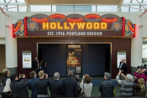 S.W. Conser visits the Micro-Cinema at the Portland International Airport with the Hollywood Theatre's Doug Whyte for The Film Show on KBOO
