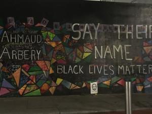 Black Lives Matter Mural Portland Apple Storefront