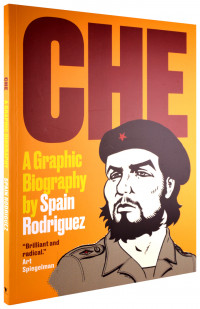Spain Rodriguez talks about his graphic biography of Che Guevara on Words and Pictures on KBOO Radio hosted by Bill Dodge and S.W. Conser