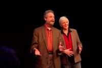 Lawrence Howard and Lynne Duddy of Portland Story Theater