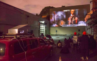 SNACK BLOC x Mobile Projection Unit Tuesday Movie Night, Walk in Movie, July 7, 2020